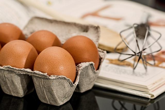 bandeja de ovos