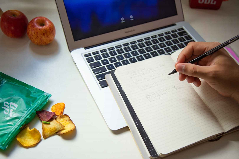 metodos de organização com internet e caderno