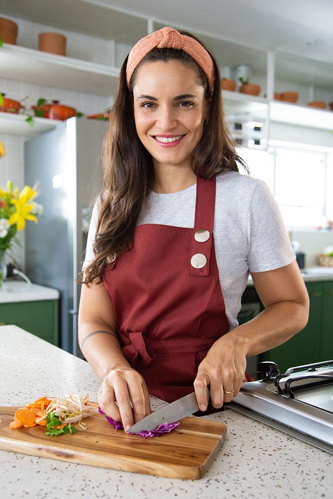 renata vanzetto cozinhando