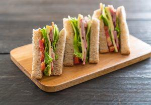 sanduiche natural - snack salgado