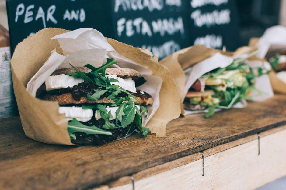comida saudável ou fast food?