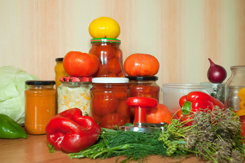 principais conservantes de alimentos