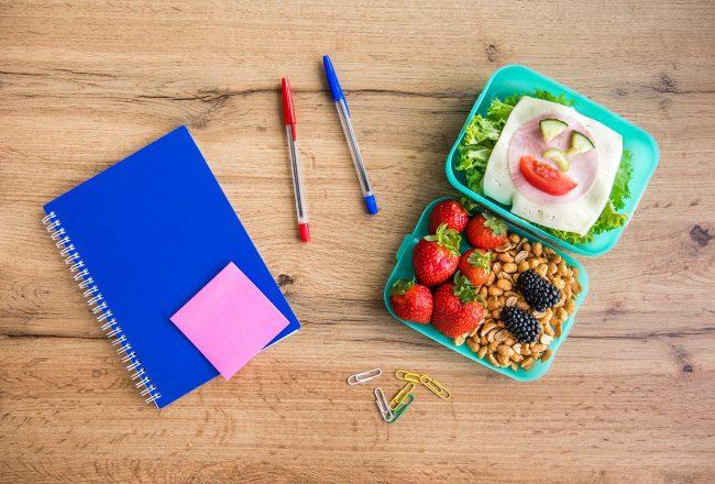 rotina alimentar na volta às aulas