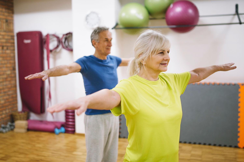 exercícios na terceira idade