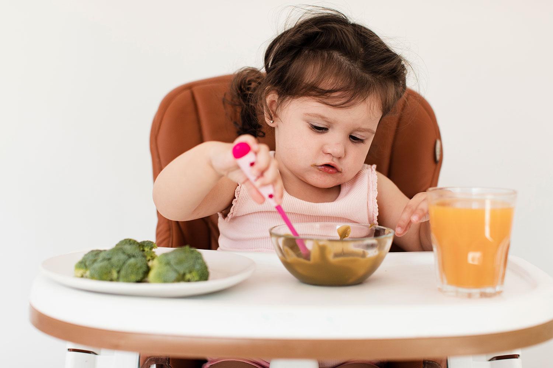 rótulos de alimentos infantis