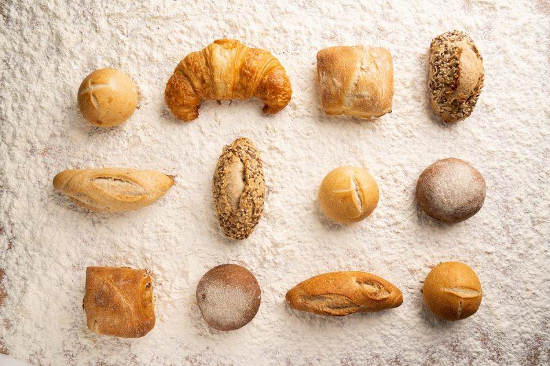 tipos de pão