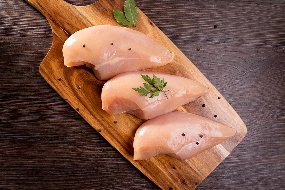 frango sem antibiótico -