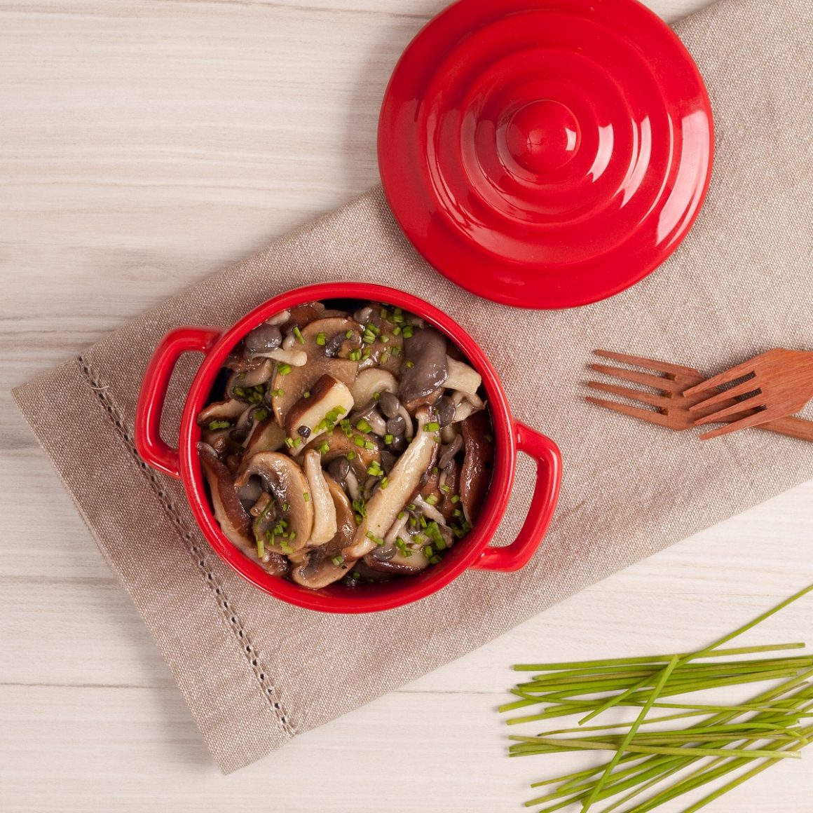 alimentos ricos em vitamina D cogumelos