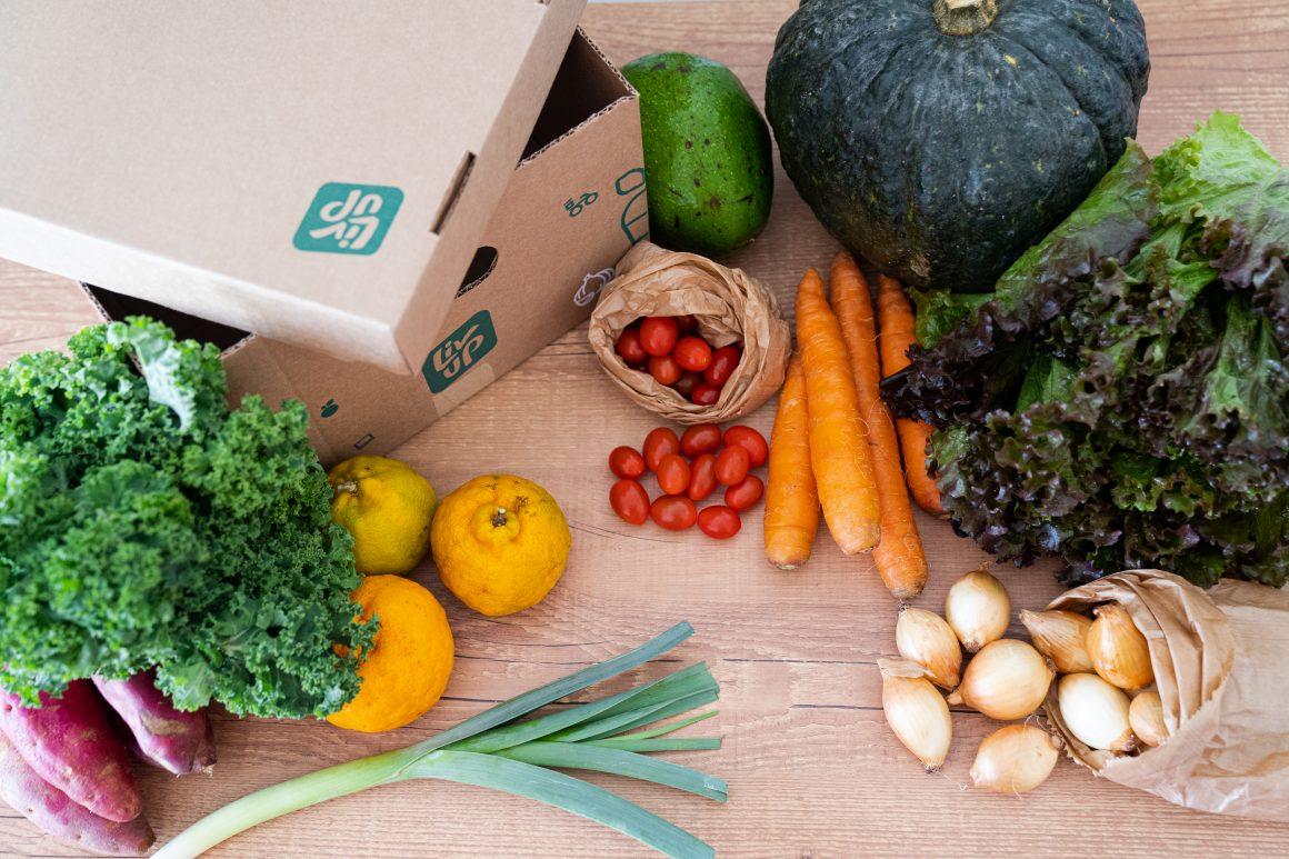 cesta de alimentos com baixa caloria