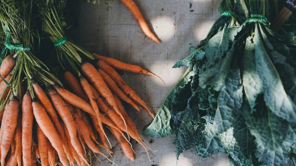 alimentos de uma feira orgânica online